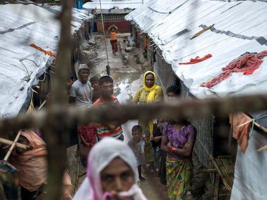 TOPSHOT-BANGLADESH-MYANMAR-UNREST-REFUGEE-ROHINGYA