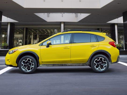 Subaru XV Crosstrek's yellow edition isn't mellow