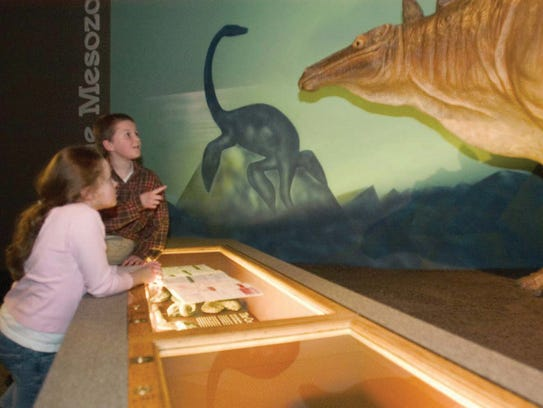 The Third Planet exhibit is one of the Milwaukee Public