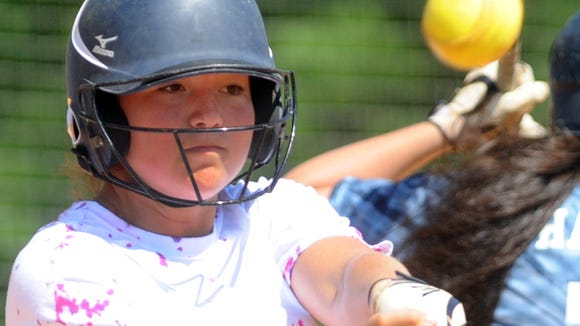 Enka's Jordan Harris has committed to play college softball for Appalachian State.