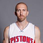 Detroit Pistons guard Steve Blake.