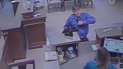 This man is accused of robbing a bank in Covington Wednesday afternoon.