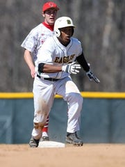 Eli Carerra scored 16 runs in his first year at The College of Brockport.