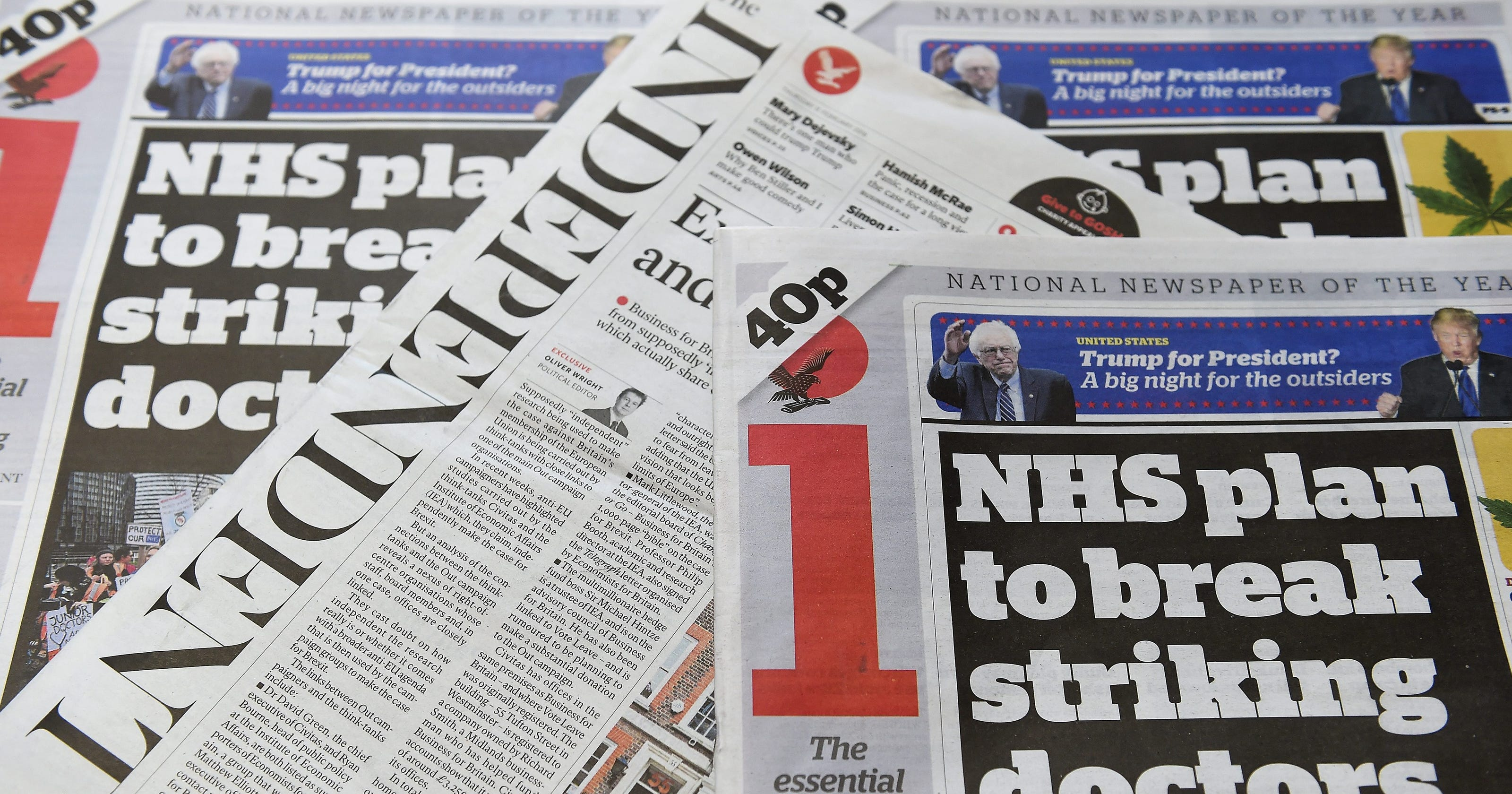 Britain's 'The Independent' newspaper to go digital-only