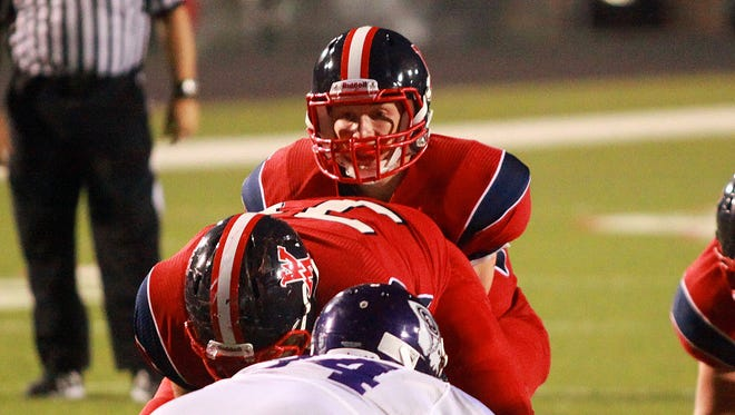 West Monroe quarterback Robert Scott Foust passed for 97 yards and two touchdowns in his second start Friday vs. Barbe.