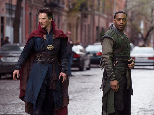 Doctor Strange (Benedict Cumberbatch) and Karl Mordo
