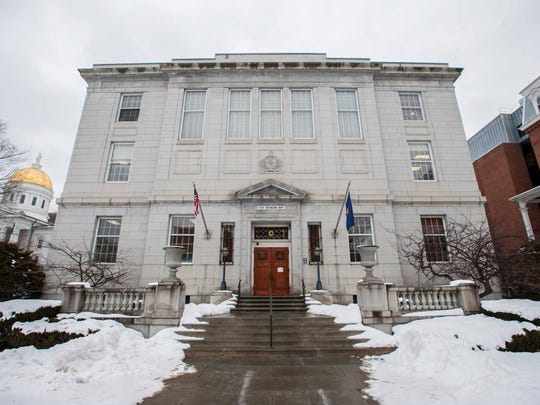 The Vermont Supreme Court in Montpelier seen on Tuesday, January 3, 2017.
