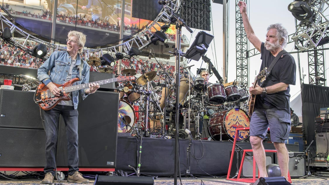 The Grateful Dead Tour Phoenix