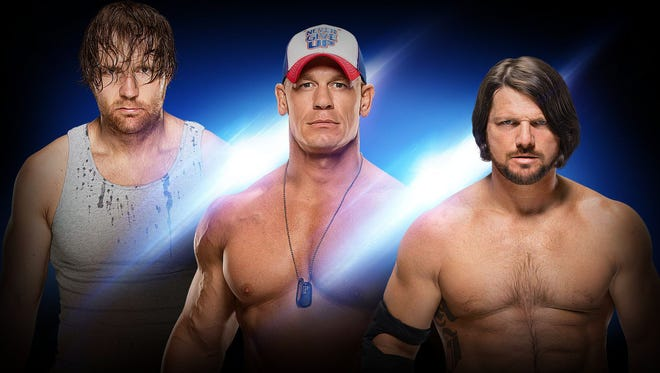 Dean Ambrose, John Cena and AJ Styles are just three of the stellar lineup set to take the ring at the Pan American Center for WWE Live: Road to WrestleMania.