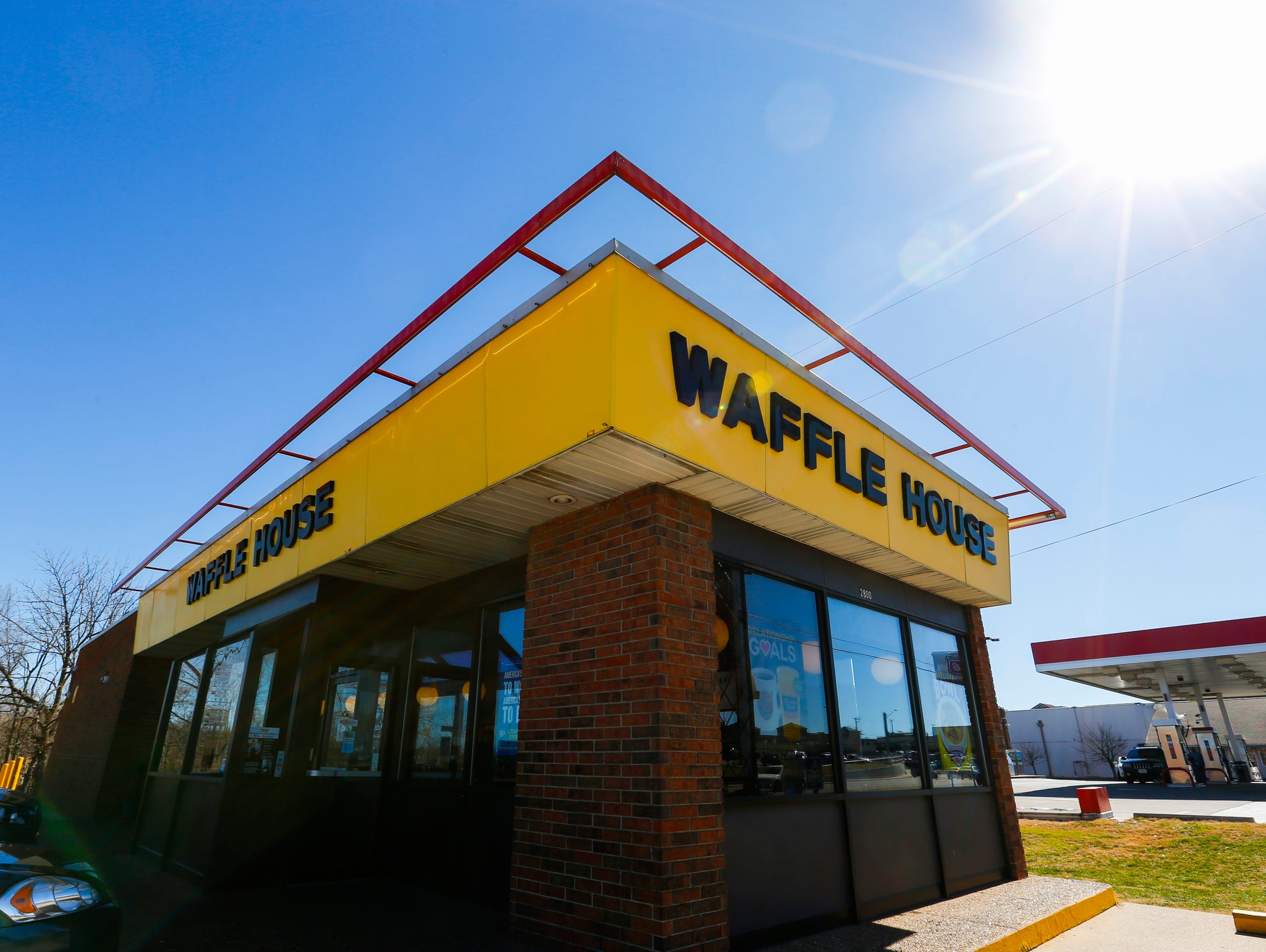 The Waffle House on North Kansas Expressway in Springfield,