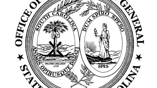 seal of the South Carolina Attorney General