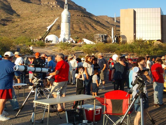 In 2012, hundreds of area residents turned out for the museum's annular eclipse viewing event. On Aug. 21 for the solar eclipse, the museum will host several activities beginning at 10:30 a.m. followed by viewing at 11:30 a.m.