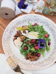 A Sweet Pear Salad was created by Meg Low Nobile of