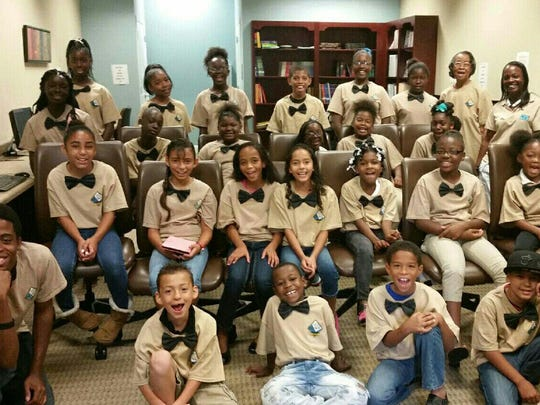 Members of the City of Fort Myers' Housing Authority Youth Choir