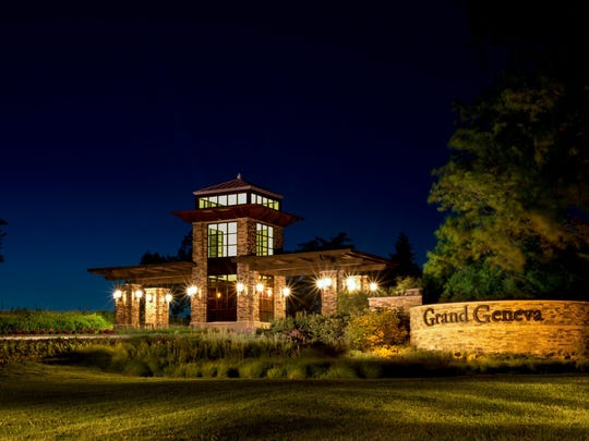 The Grand Geneva Resort  near Lake Geneva has two golf courses and a spa.