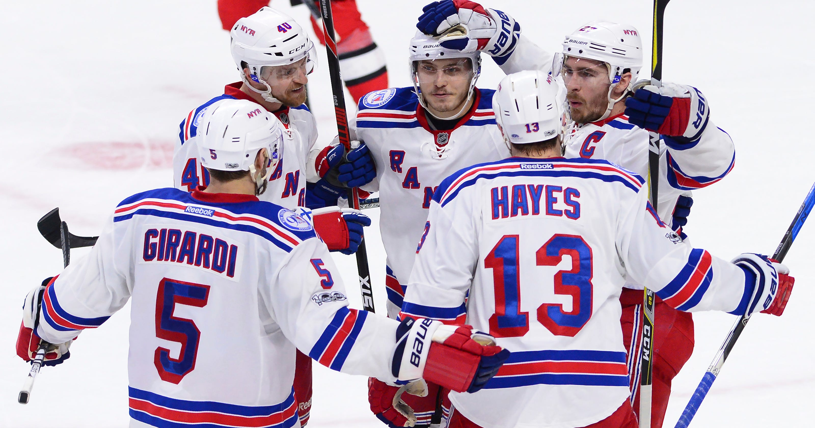 947293449af Rangers to face Sabres in 2018 Winter Classic at Citi Field
