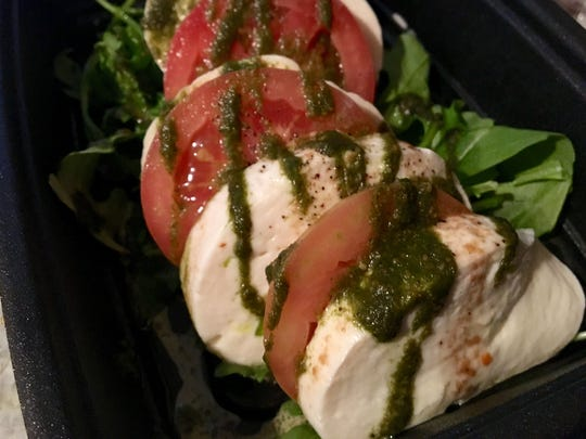 A Caprese salad, from Cafe Italia in south Fort Myers.