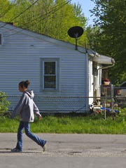Matt Stone/The C-J The town of Austin in rural Indiana