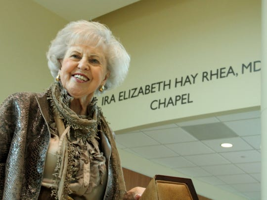 Dr. Liz Rhea will be honored at the Heart Ball.