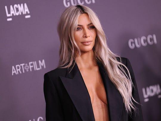 Kim Kardashian West in Los Angeles on Nov. 4, 2017.