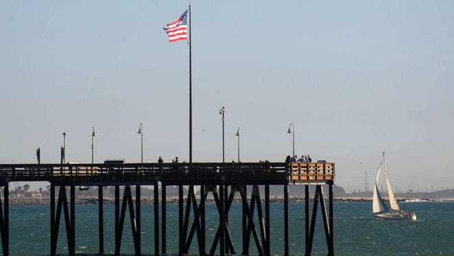 The historic Ventura Pier is among the top local attractions.