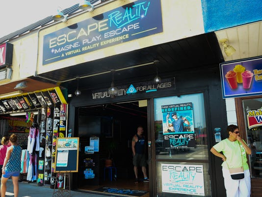 d50758f6437 Cutting edge virtual reality arcade in Rehoboth Beach provides a look into  the future