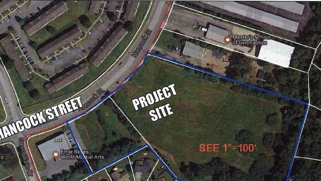 Overlook Apartments will feature 96 units on 7 acres along Hancock Street near Gallatin High School.