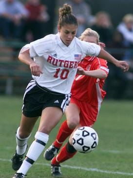 Delran's Carli Lloyd is being inducted into the Rutgers Athletics Hall of Fame.