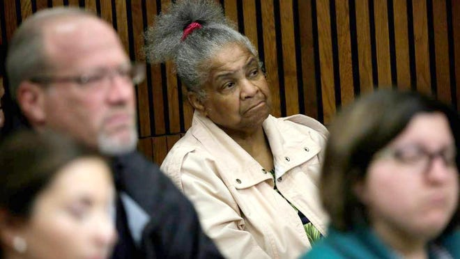 Laverne Banks, 68, of Detroit has been watching court proceedings in Wayne County Circuit Court for more than two decades.