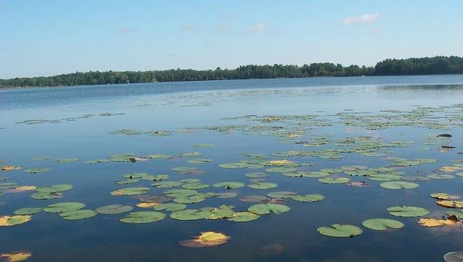 A lake in eastern Marathon County.