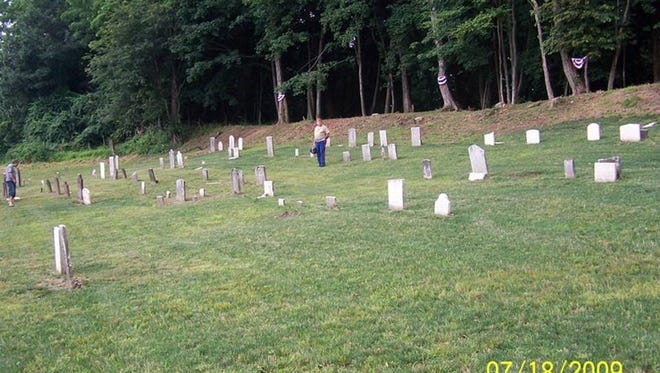 Waldron Revolutionary War and War of 1812 Cemetery in Stony Point.