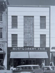 The former Montgomery Fair department store where civil
