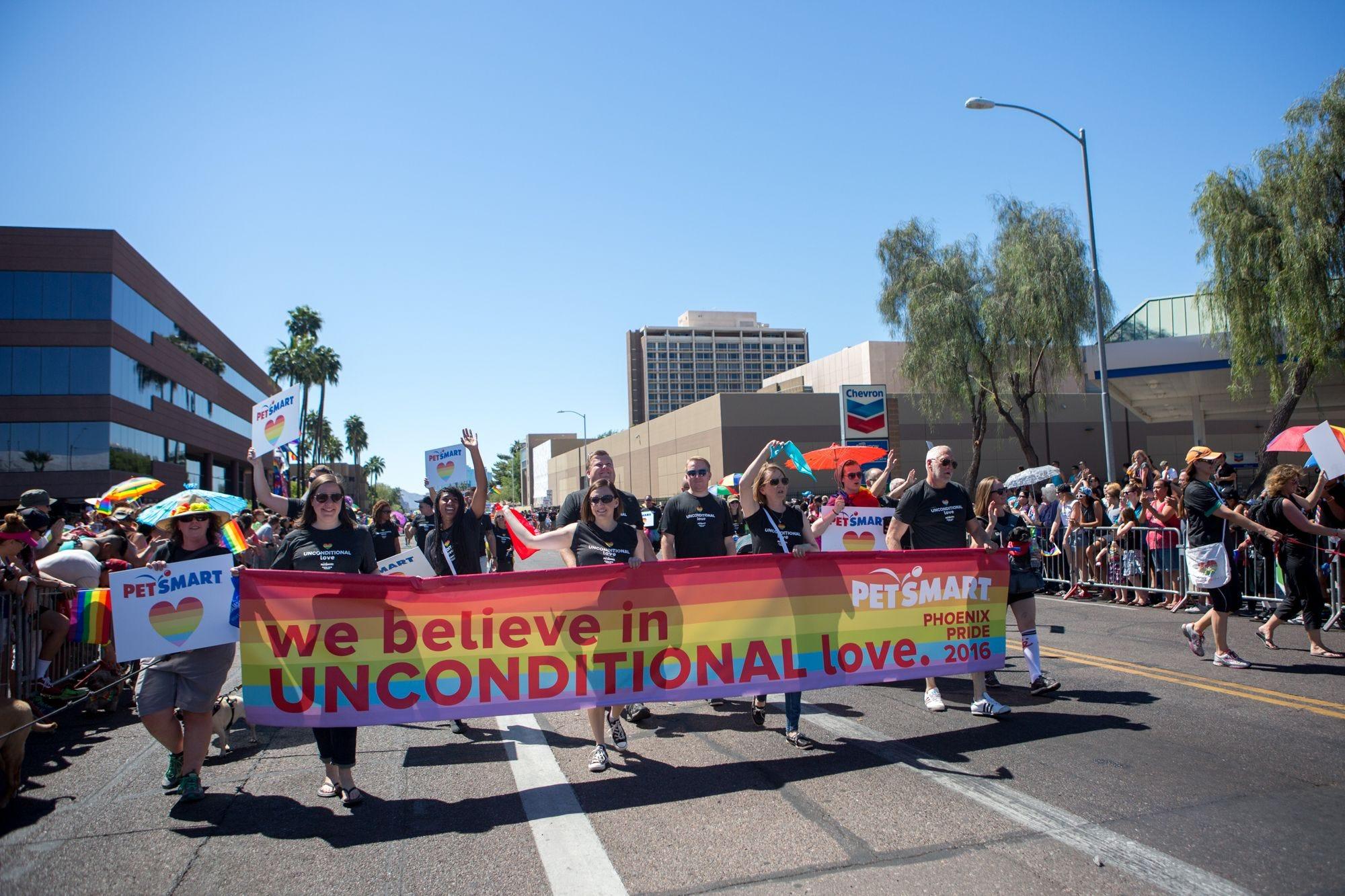 Gay pride giveaways