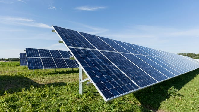Gulf Power, military bring large scale solar power.