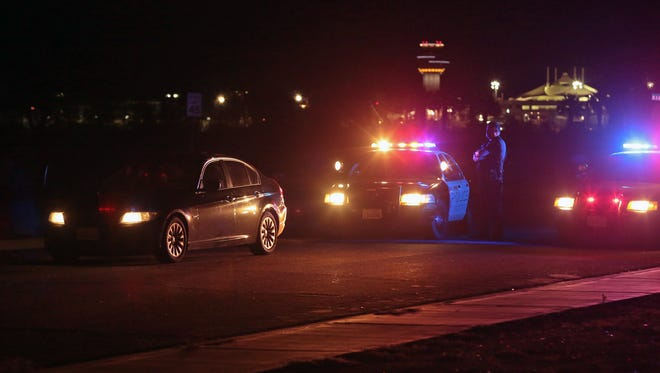 Palm Springs Police Department's DUI checkpoint was placed at North Indian Canyon Drive at Simms Road.
