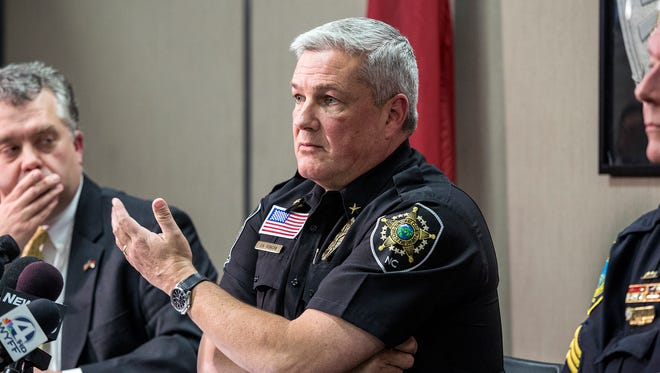 Buncombe County Sheriff Van Duncan is again raising concerns over proposals made by three commissioners for additional police training, auditing and a body camera review team in the wake of an Asheville police officer's beating of a black pedestrian.