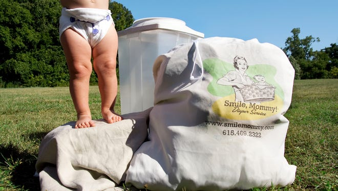 Families with infants and toddlers spend $70 to $80 each month for each child wearing diapers.