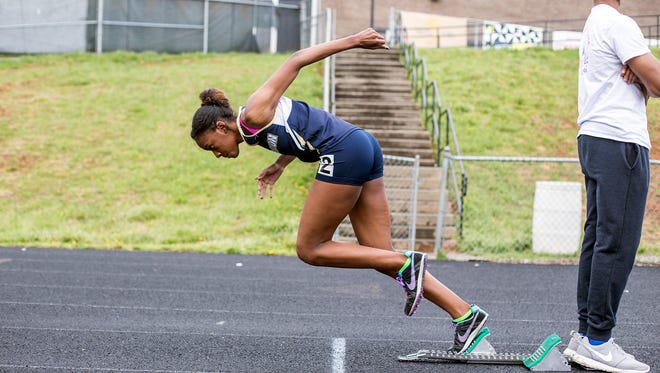 The Roberson girls won last week's Buncombe County track meet as well as Tuesday's WHKP Relays in Hendersonville.