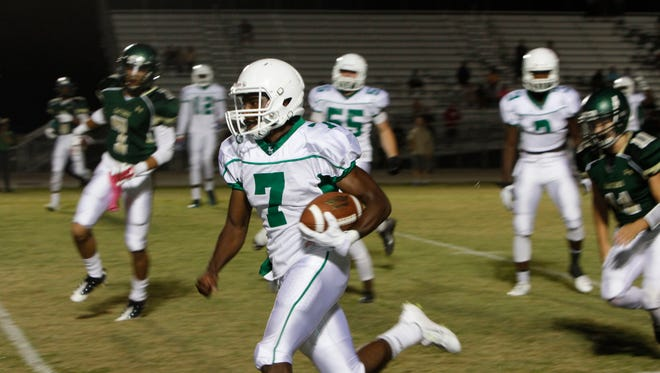 Island Coast hosted Fort Myers for a spring football game Friday in Cape Coral.