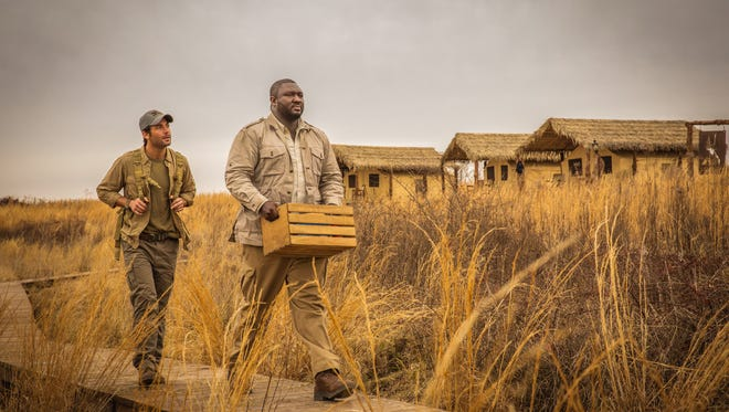 James Wolk, left, and Nonso Anozie star in CBS' 'Zoo.'
