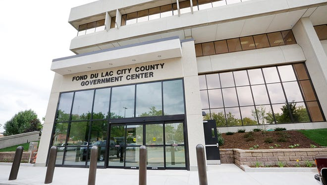 A look at the new addition of the City/County Government Center in Fond du Lac. Tuesday August 18, 2015.