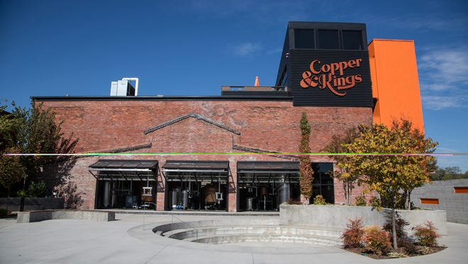 Copper and Kings American Brandy Company is located right off the train tracks in Butchertown in Louisville, Ky. The company will be celebrating it's one year anniversary and having it's second annual Lock,Stock & Smoking Barrels event on October 30. October 21, 2015.