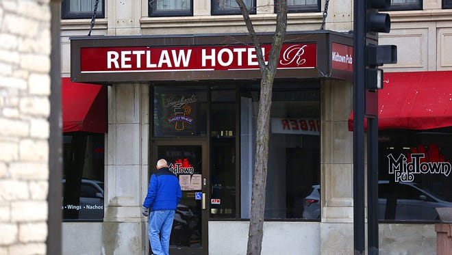 The Retlaw Plaza Hotel closed its doors on December 3, 2015.