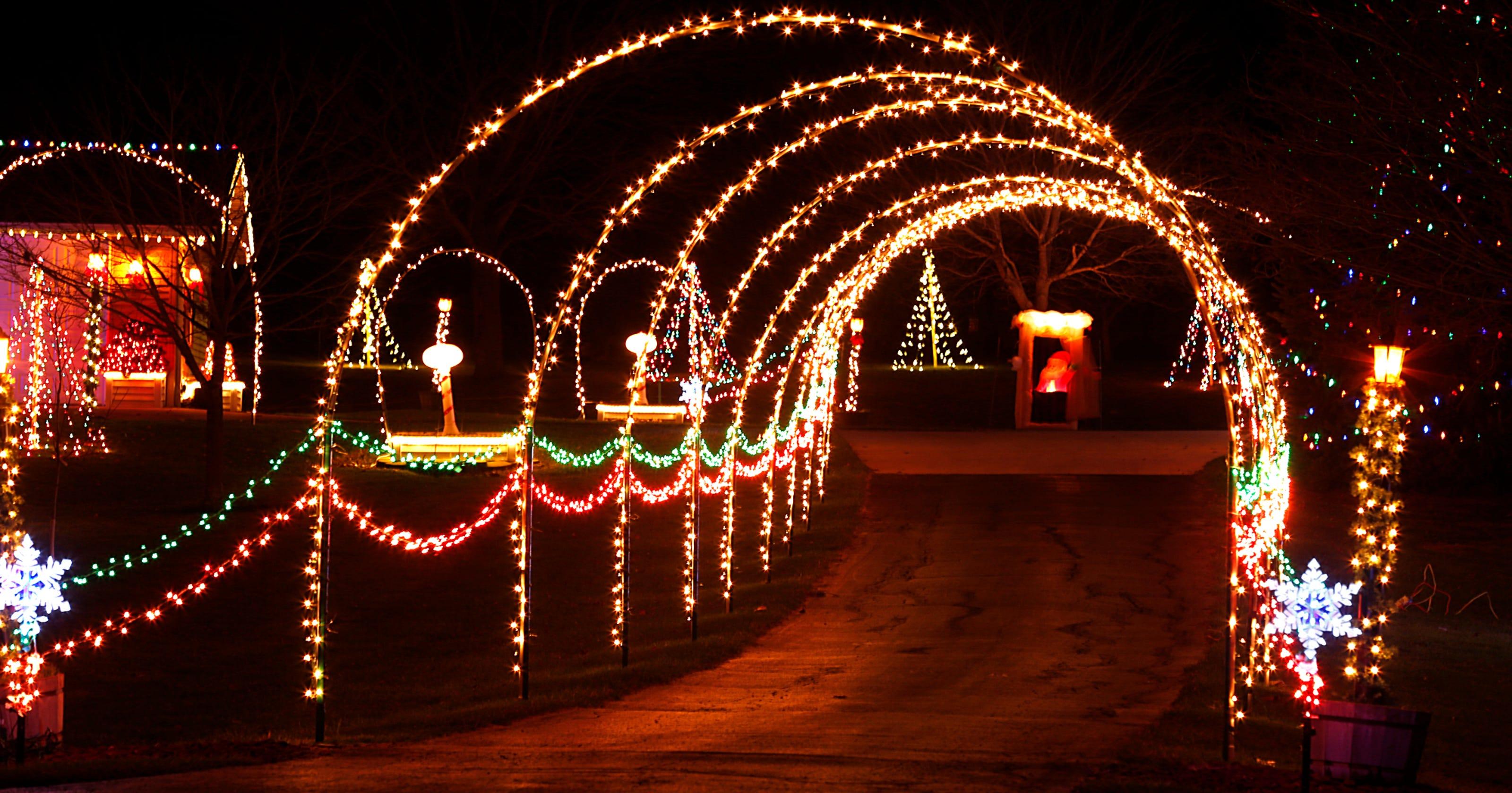 Best Christmas Lights Near Me.Fond Du Lac Christmas Lights Displays On Map