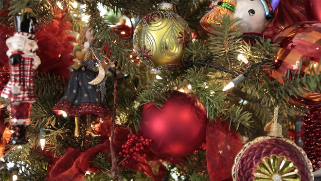 A Christmas tree is often the focal point of a home during the holiday season.