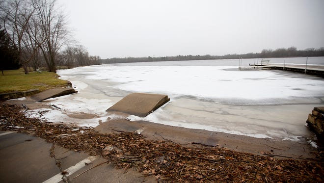 The body of a 70-year-old woman was found in the Wisconsin River at Bukolt Park in Stevens Point, Tuesday, Dec. 22, 2015.