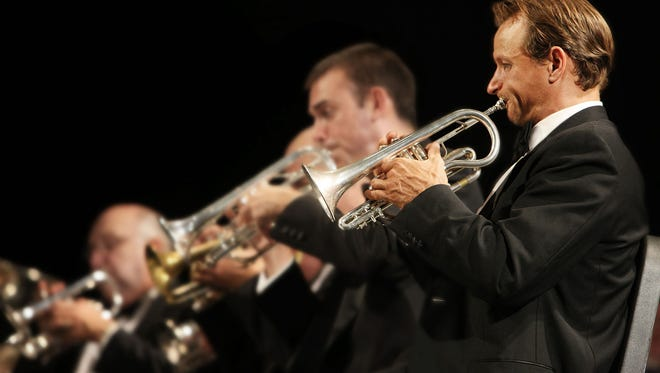 """River City Brass brings """"Brasstacular!"""" to the Luhrs Center in February."""