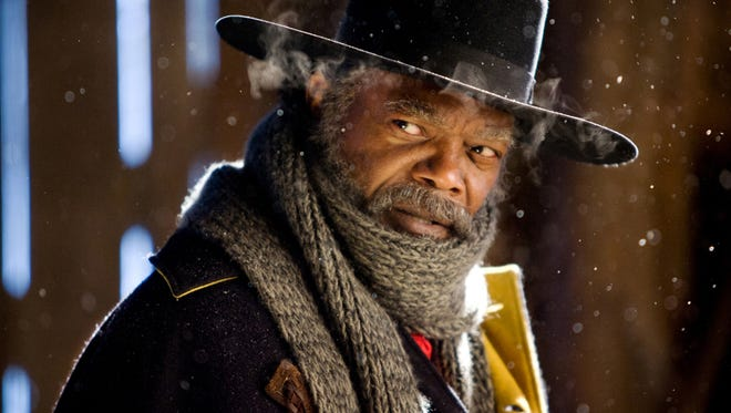 Samuel L. Jackson is a former Union soldier turned bounty hunter in 'The Hateful Eight.'
