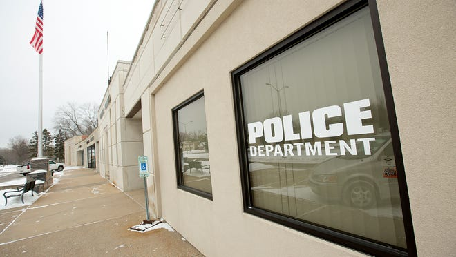 The Port Edwards Police Department located at 201 Market Avenue in Port Edwards, Wednesday, Jan. 13, 2015.