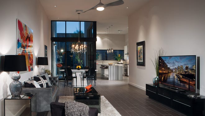 """The """"little jewel boxes"""" at The Douglas Scottsdale have a modern feel to them."""